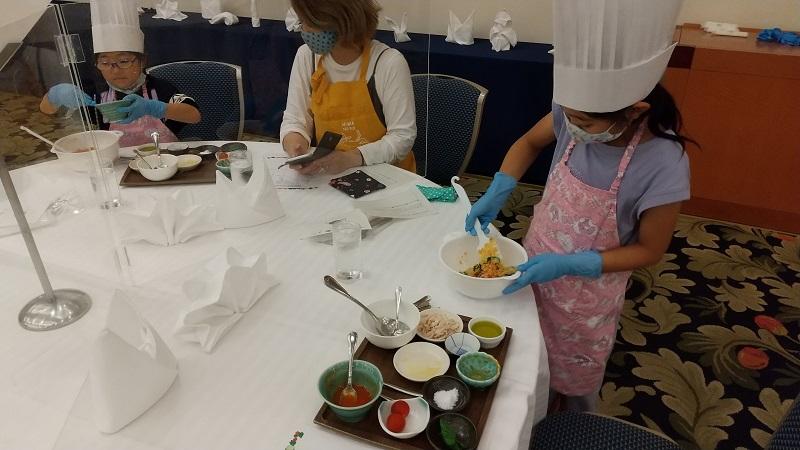 夏休みイベント「親子お料理教室」「パティシエとケーキづくり」を開催しました!