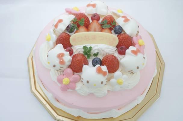 ハローキティのひなまつりケーキ(6号)