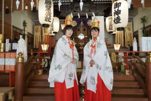 巫女さん体験 in 尼崎えびす神社